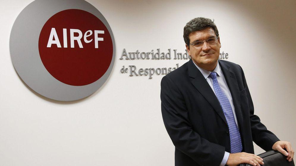 Foto: El presidente de la Autoridad Independiente de Responsabilidad Fiscal (AIReF), José Luis Escrivá. (EFE)
