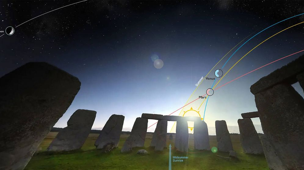 Foto: Todo preparado en Stonehenge para el solsticio de verano (Foto: English Heritage)