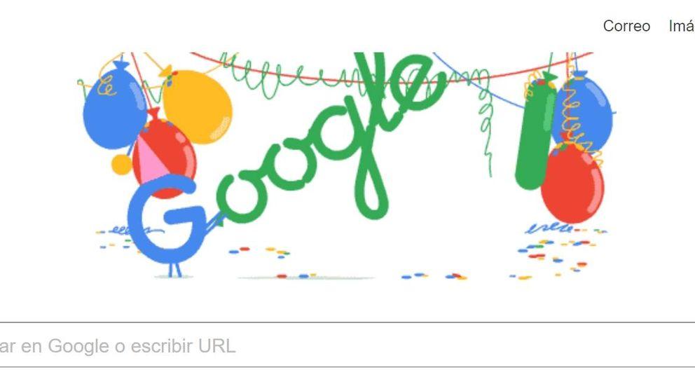Google celebra su mayoría de edad con un 'doodle' animado