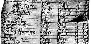 Post de La tabla babilónica de hace 3.000 años que guarda secretos matemáticos