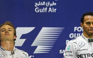 El juego del gato y el ratón entre Hamilton y Rosberg