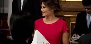 Post de De Valentino a Delpozo: los looks de Melania Trump en Japón, al detalle