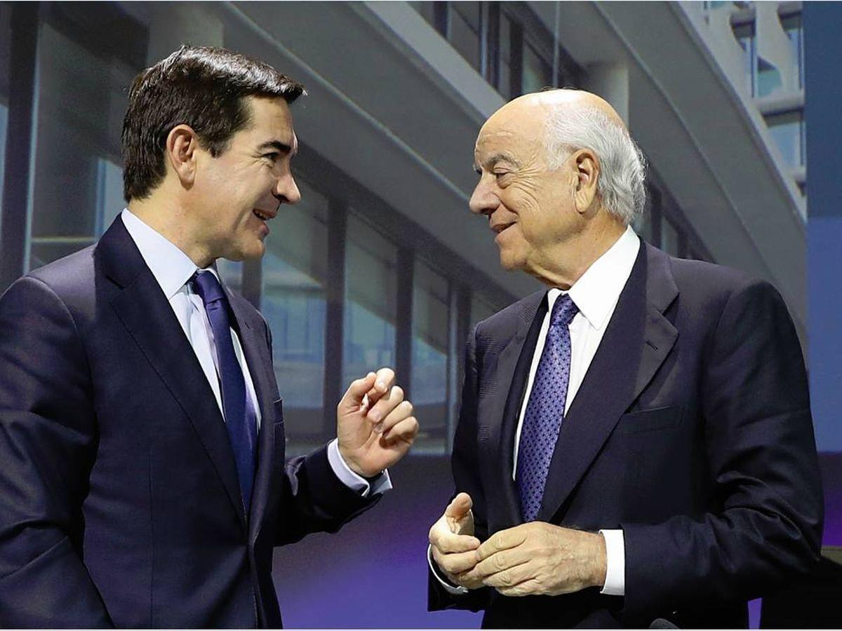 Foto: Carlos Torres y Francisco González. (BBVA)
