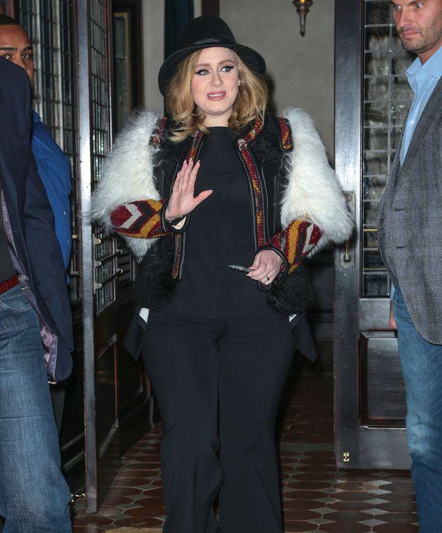 Foto: Adele en una imagen de archivo (Gtres)