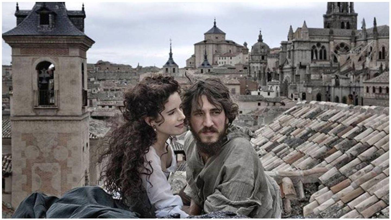 Alberto Ammann y Pilar López de Ayala,  como Lope de Vega y Elena Osorio en la película 'Lope'. (Antena 3 Films)