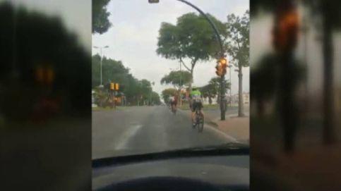 Indignación viral ante la conducta de un grupo de ciclistas