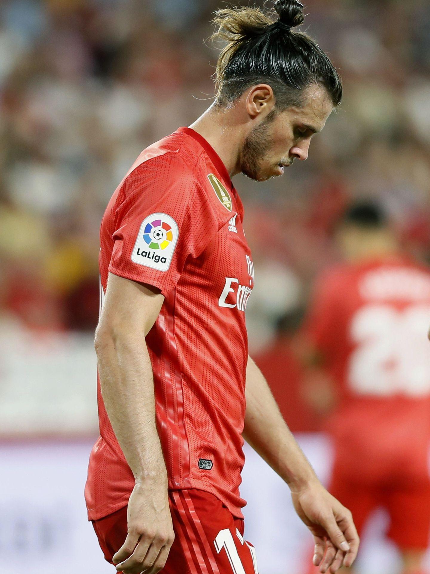 Gareth Bale frente al Sevilla. (EFE)