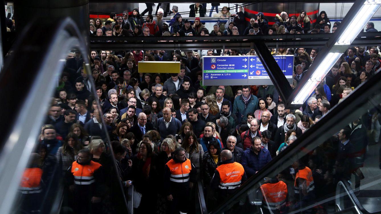 El calvario del metro de Madrid: 27 paradas con escaleras mecánicas averiadas a la vez