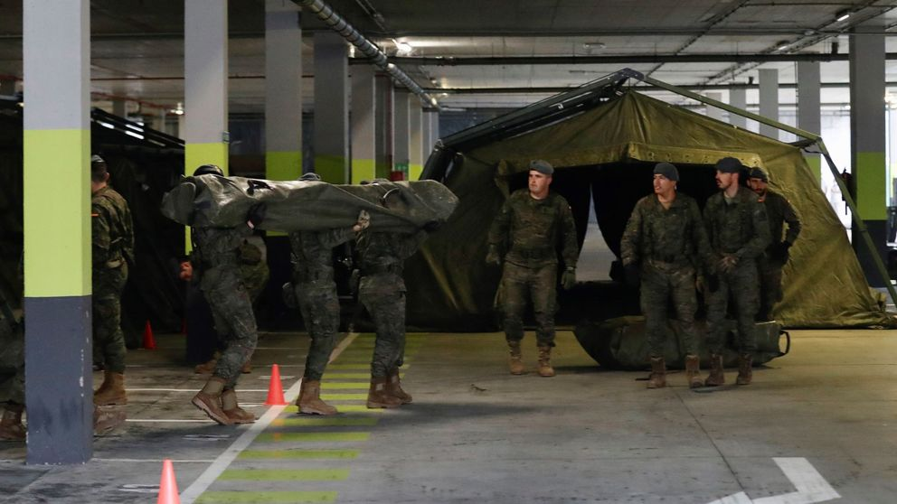 El Ejército instalará hospitales de campaña en Oviedo, Gijón y Avilés