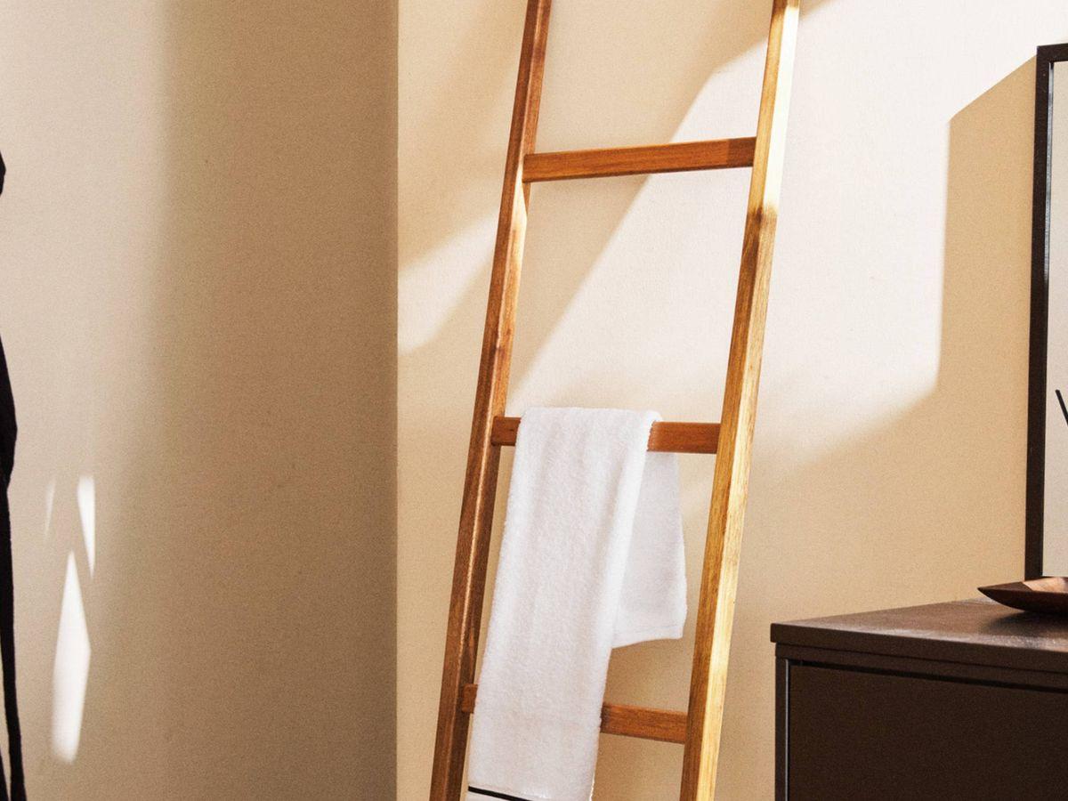 Foto: Zara Home tiene los muebles auxiliares más elegantes para tu cuarto de baño. (Cortesía)