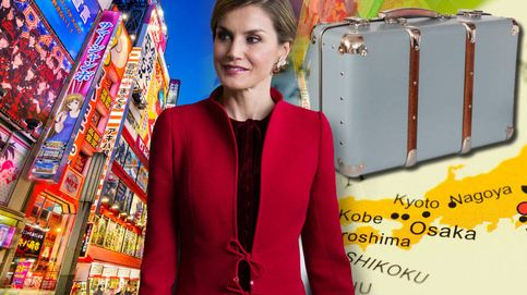 Esto es lo que cuesta la maleta que la Reina Letizia se llevó a Japón