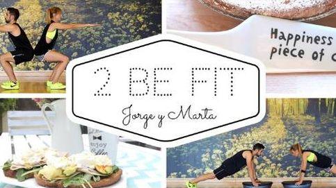 Ponte en forma con Jorge y Marta, el dúo fitness de 2beFit
