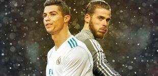 Post de Florentino se plantea el trueque De Gea por Cristiano Ronaldo