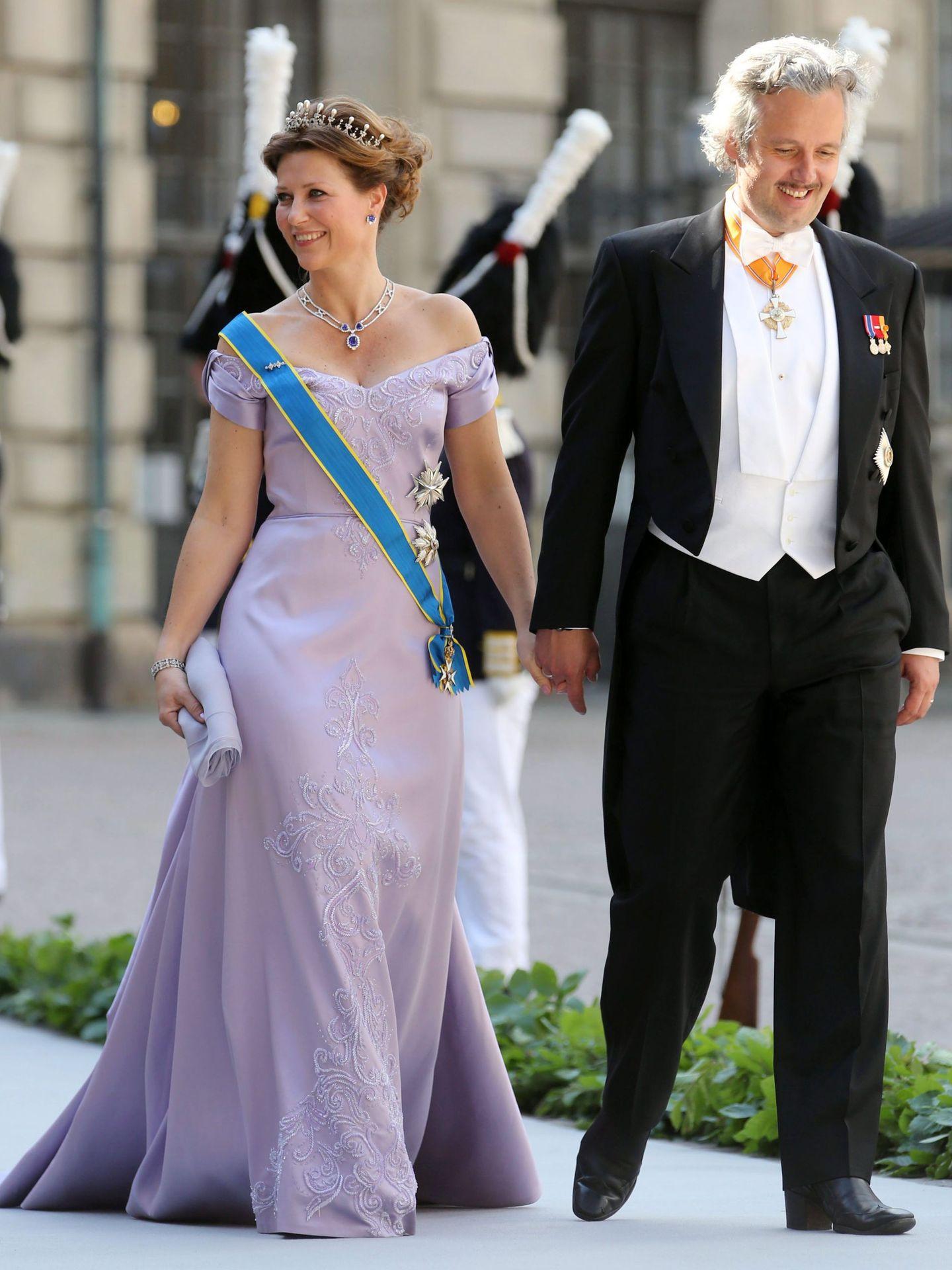 Ari Behn y Marta Luisa. (EFE)