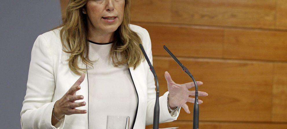 Susana Díaz mantiene el despilfarro en las consejerías claves de la Junta de Andalucía