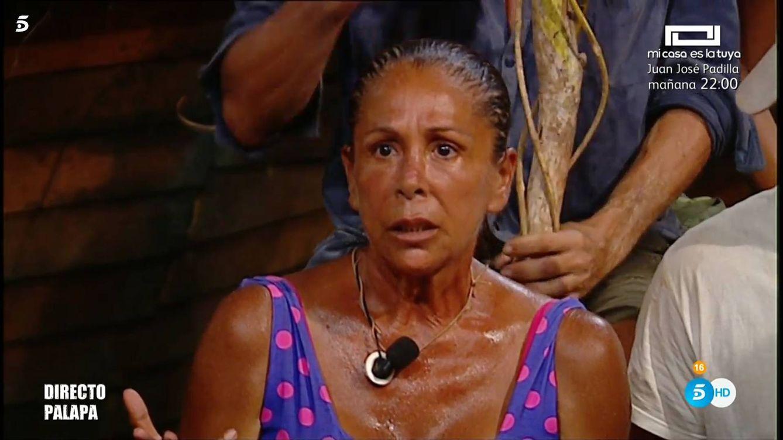 Isabel Pantoja apuñala a escondidas a Dulce y a la familia Albalá en 'Supervivientes'