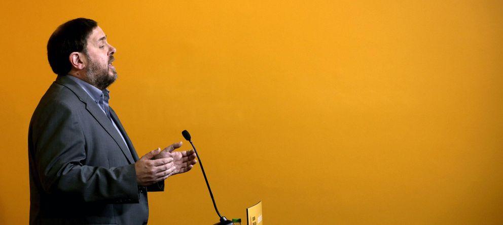Foto: El presidente de ERC, Oriol Junqueras (EFE)