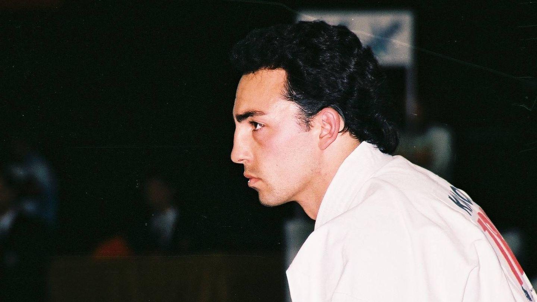 Egea, en los Mundiales de Granada en 1992. (Salvador Herráiz)