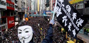 Post de Cientos de miles de manifestantes vuelven a tomar las calles de Hong Kong