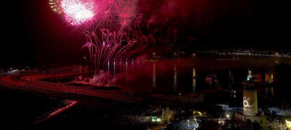 Foto: Inauguración de la Feria de Málaga (EFE)