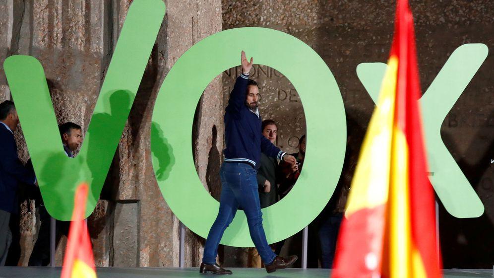 Foto: Acto electoral de Vox (Reuters)