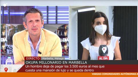 La reacción de Joaquín Prat tras la amenaza de un okupa a una reportera