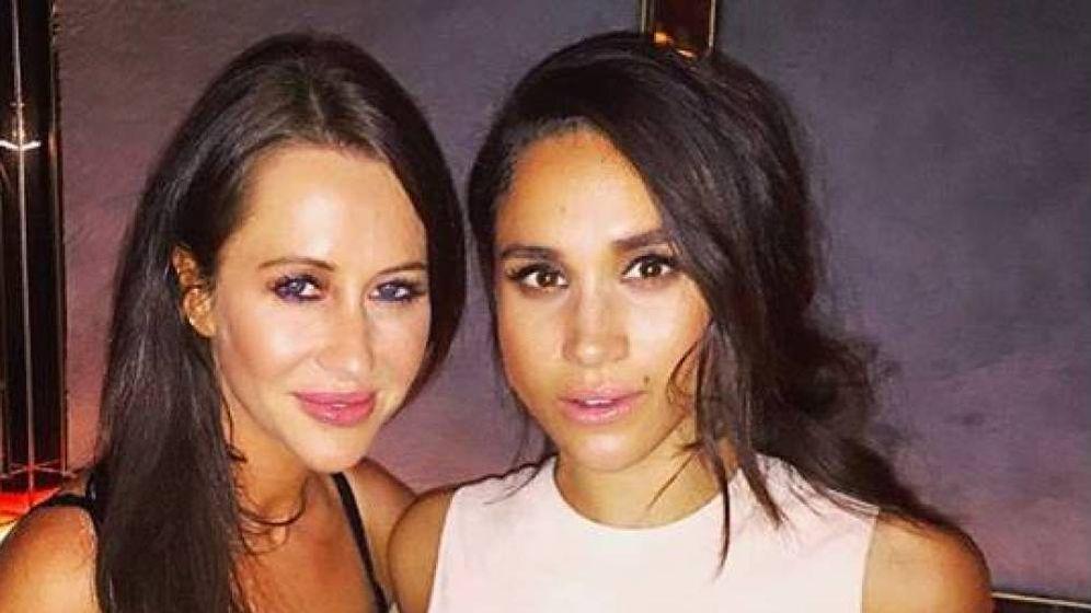 Foto: Jessica y Meghan, en una foto en redes sociales. (Instagram @JessicaMulroney)