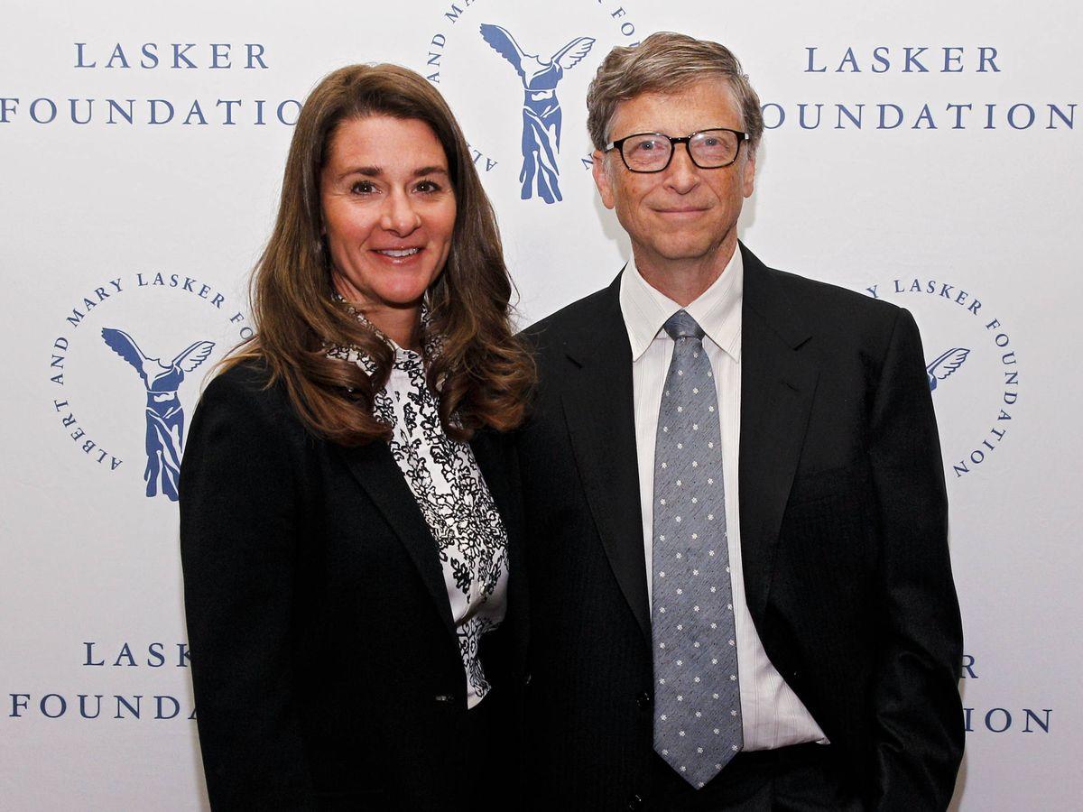 Foto: Melinda y Bill Gates, en una imagen de archivo. (Getty)