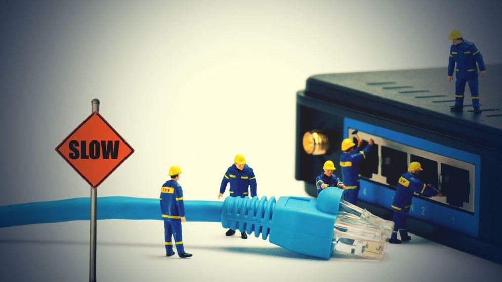 La conexión wifi desperdicia el 65% de la velocidad que has contratado