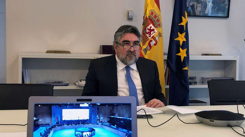 Foto: El ministro de Cultura, José Manuel Rodríguez Uribes.