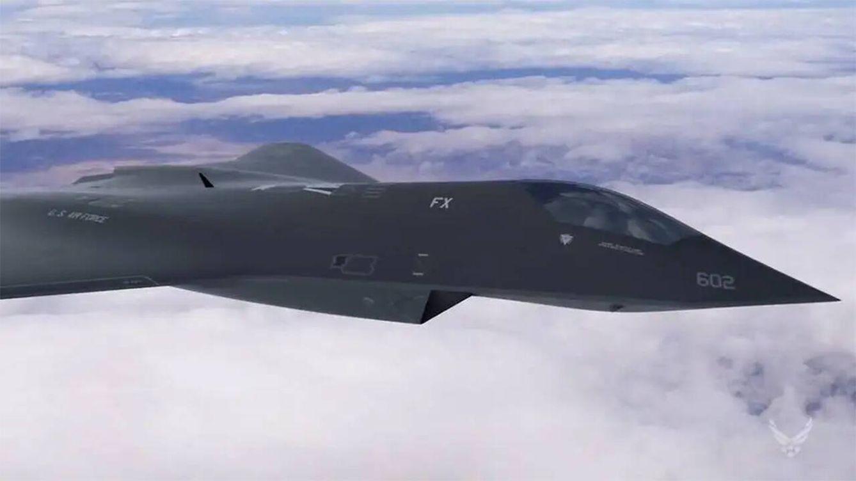 Foto: Un concepto del caza de sexta generación del Ejército del Aire de los EEUU (USAF)