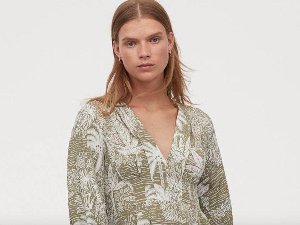 Foto: Vestido glamuroso de H&M. (Cortesía)