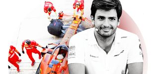 Post de El impacto de Carlos Sainz en Ferrari: