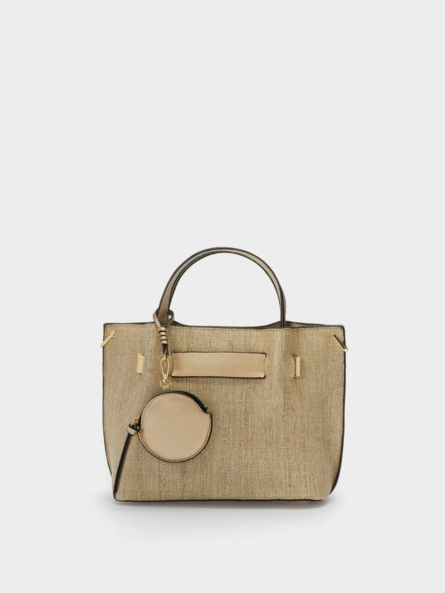 El bolso de Parfois en color beige. (Cortesía)