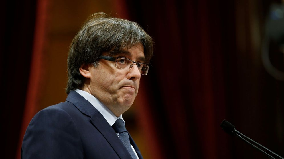 Foto: Carles Puigdemont, presidente de Cataluña. (Reuters)