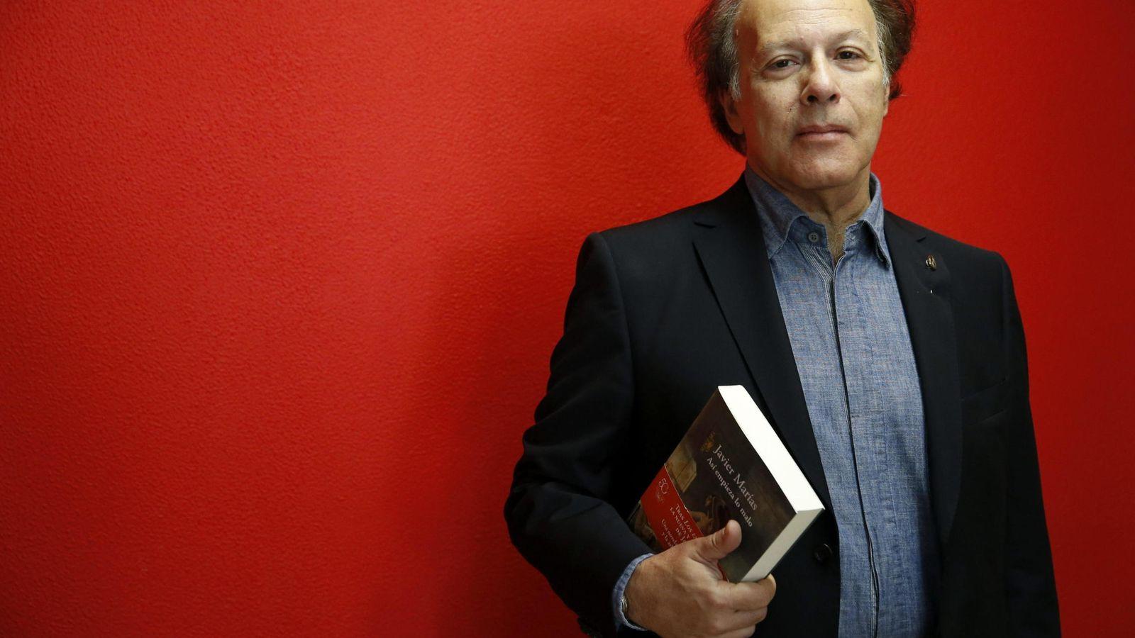 Foto: El escritor Javier Marías (EFE)