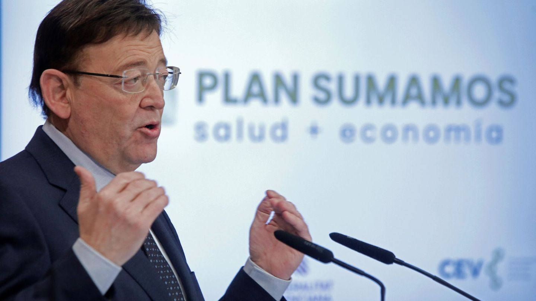 El presidente de la Comunidad Valenciana, Ximo Puig. (EFE)