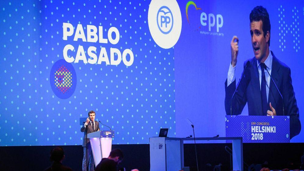 Foto: Casado viaja a su primer congreso del PPE (EFE)