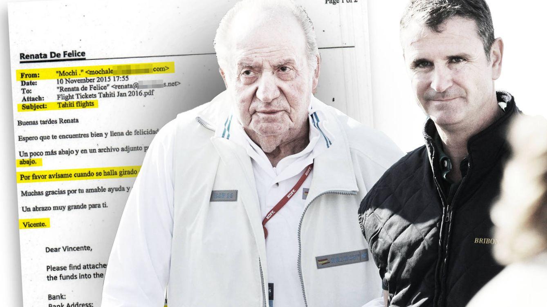 El jefe de escolta de Zarzuela movió dinero opaco de Juan Carlos I desde Hotmail