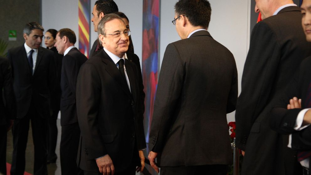 Florentino Pérez, Bartomeu... Así ha sido el homenaje a Johan Cruyff organizado por el FC Barcelona