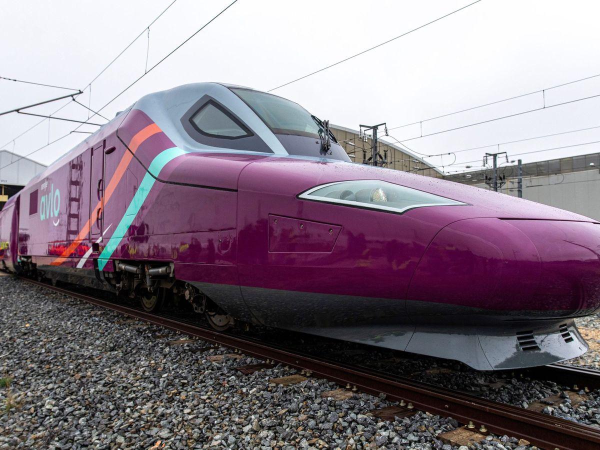 Foto: Avlo, el nuevo tren 'low cost' de Renfe. (EFE)