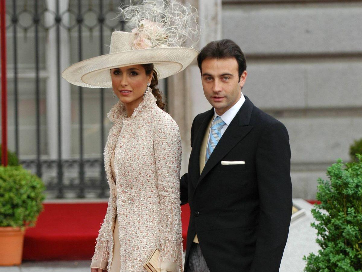 Foto: Paloma Cuevas y Enrique Ponce, en la boda de los Príncipes de Asturias. (Cordon Press)