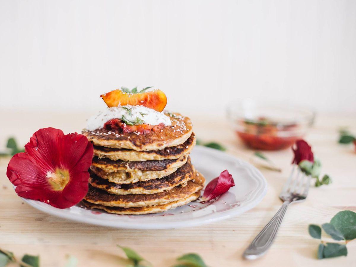 Foto: Cereal pancakes para desayunar. (None Other para Unsplash)