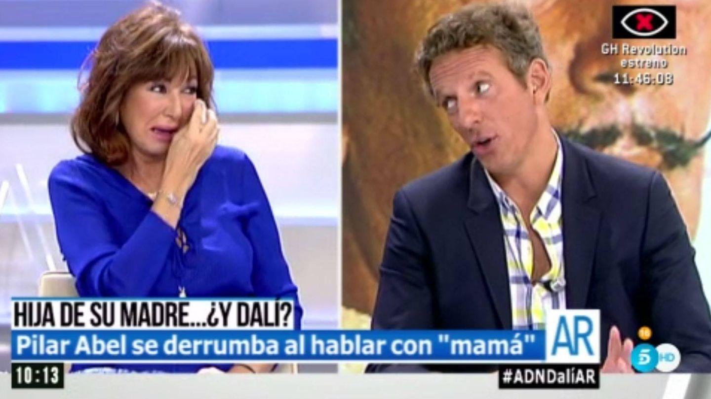 Ana Rosa Quintana y Joaquín Prat. (Mediaset España)