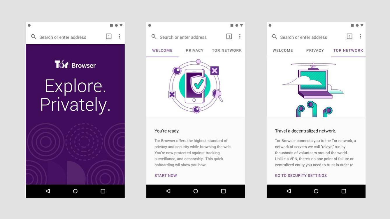 Ya puedes navegar en el móvil sin que nadie te espíe: cómo usar la nueva 'app' de Tor
