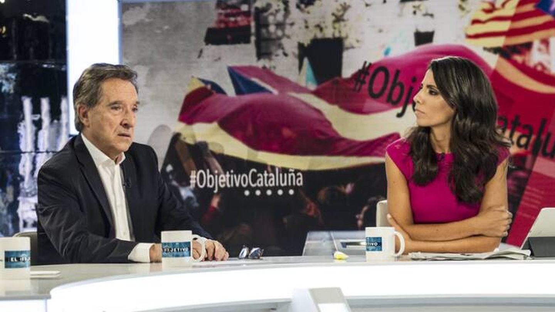 Ana Pastor con Iñaki Gabilondo. (Atresmedia)