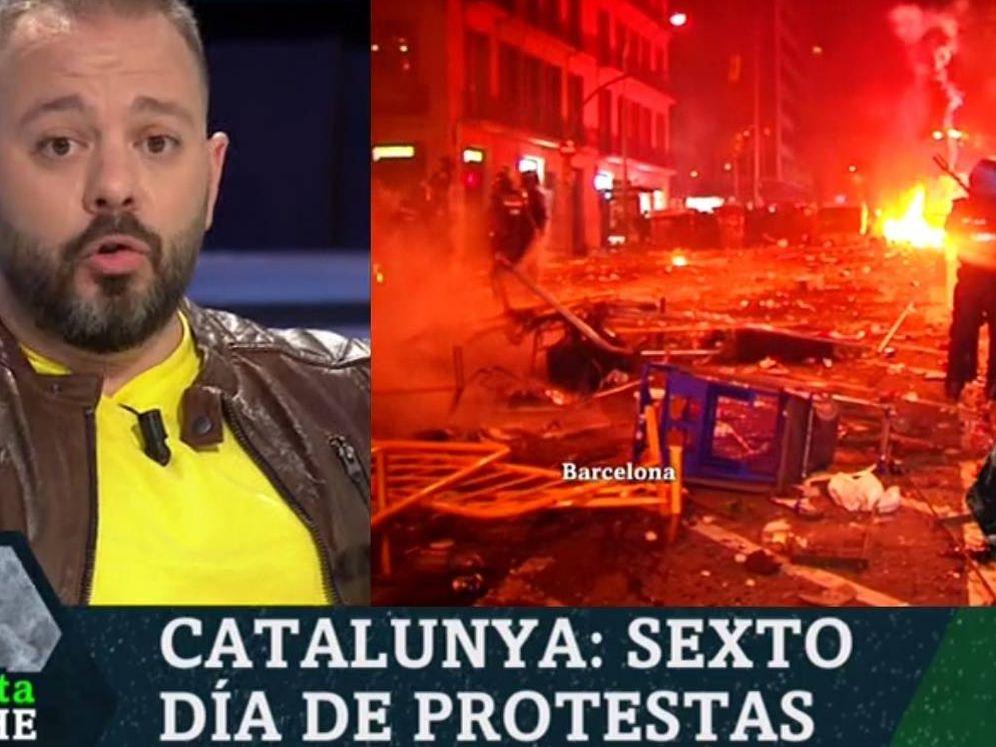 Foto: Antonio Maestre, en 'La Sexta noche'. (Atresmedia).