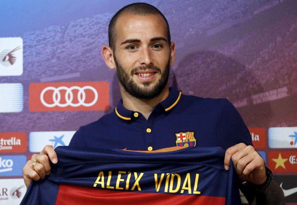 Foto: El FC Barcelona pagará 18 millones de euros por Aleix Vidal (Reuters)