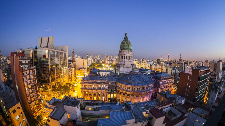 Horizonte de Buenos Aires, Argentina. (iStock)