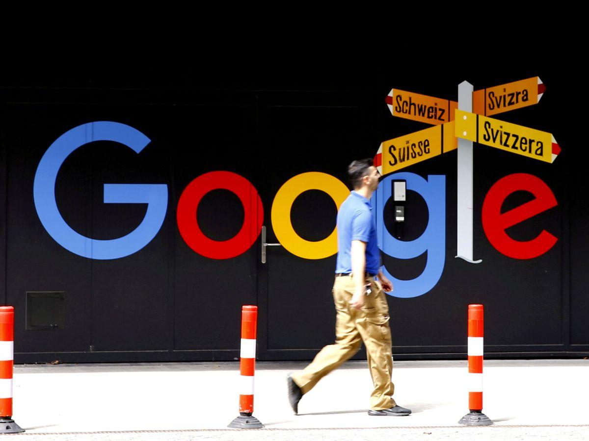 Foto: El logo de Google. (Reuters)
